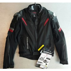 KOMINE JACKET JK-052 LEATHER M-JKT R-SPEC TT