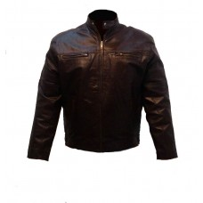 MOTOBELL LEATHER JACKET 0033 3XL 4XL BR
