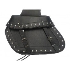 SADDLE BAG LEATHER CHOPPER LARGE