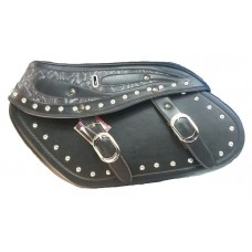 SADDLE BAG CHOPPER LEATHER BIG DESIGN